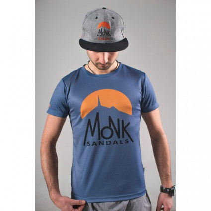 Thermoactive T-shirt - cerulean