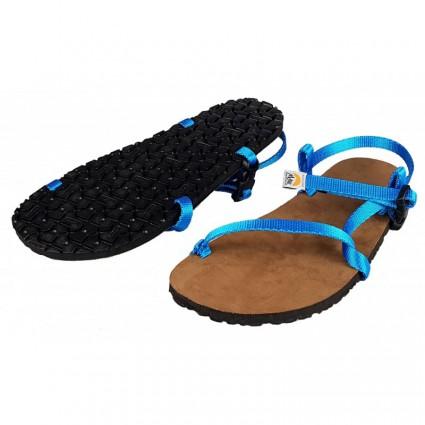 Sandały minimalistyczne Manaslu Plus Niebieskie