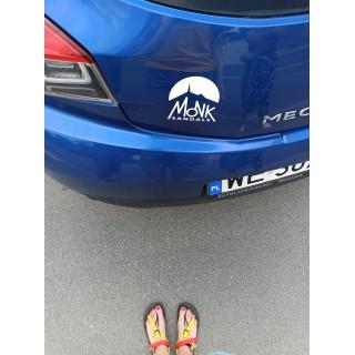 Naklejka na samochód Monk Sandals